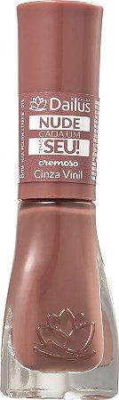 Dailus Esmalte Cremoso Cinza Vinil 016