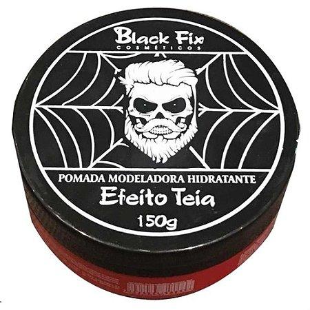 BLACK FIX Pomada Modeladora Hidratante Efeito Teia 150g