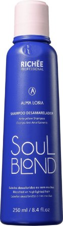 RICHÉE Professional Soul Blond Alma Loira Shampoo Desamarelador 250ml