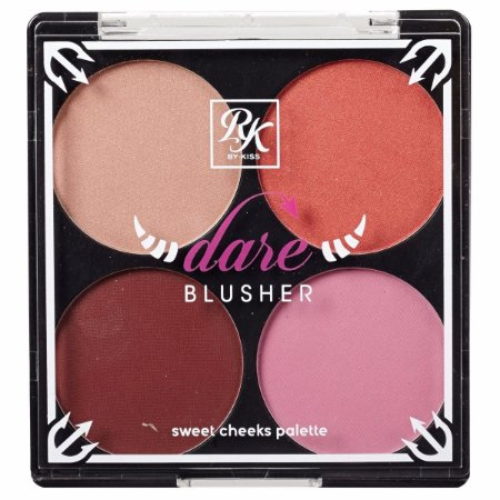 RK By Kiss Bare Blusher Paleta de Blush - Partyin'Dare - 14,8g