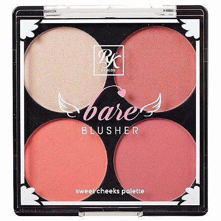 RK By Kiss Bare Blusher Paleta de Blush - Livin'Bare - 14,8g (RKB02BR)