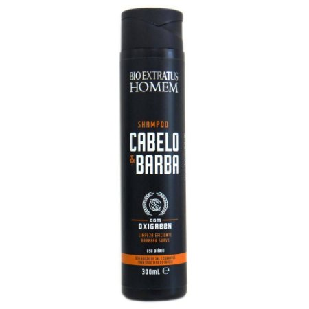 Bio Extratus Homem Shampoo Cabelo & Barba - 300ml