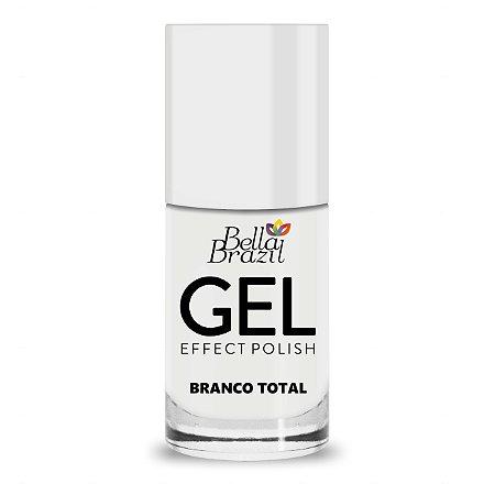 Bella Brazil Esmalte Gel Branco Total 828 - 8ml