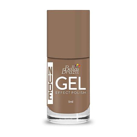 Bella Brazil Esmalte Gel Nude Amo Nude 820 - 8ml