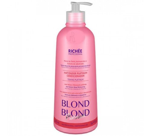 RICHÉE Professional Blond Platinum Matizador Condicionante 500ml