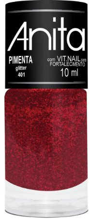 Anita Esmalte Glitter Pimenta