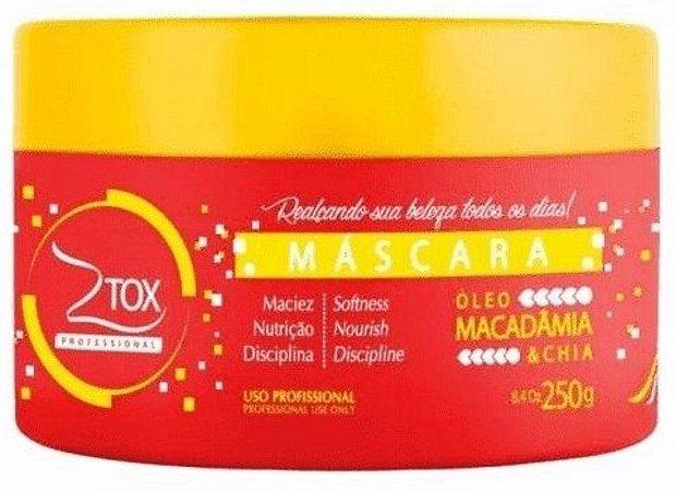Ztox Professional Máscara com Óleo de Macadâmia e Chia 250g