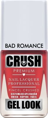 Crush Gel Look Esmalte Cremoso Bad Romance