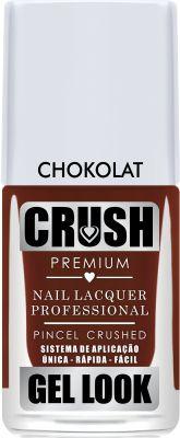 Crush Gel Look Esmalte Cremoso Chokolat