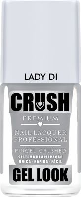 Crush Gel Look Esmalte Cremoso Lady Di