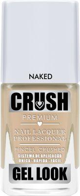Crush Gel Look Esmalte Cremoso Naked