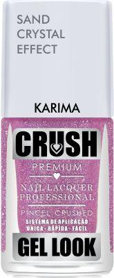 Crush Gel Look Esmalte Sand Crystal Effect Karima