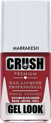 Crush Gel Look Esmalte Cremoso Marrakesh