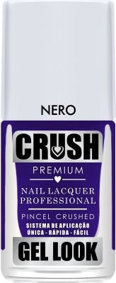 Crush Gel Look Esmalte Cremoso Nero