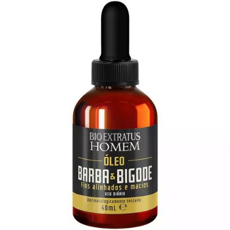 Bio Extratus Homem Óleo Barba & Bigode 40ml