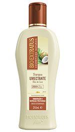 BIO EXTRATUS Umectante Shampoo Óleo de Coco 250ml