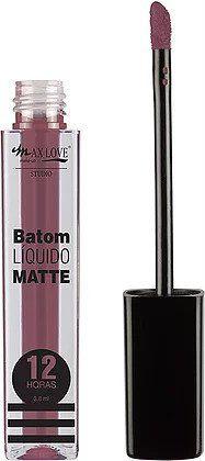 Max Love Studio Batom Líquido Matte 12H n°76 3,8ml