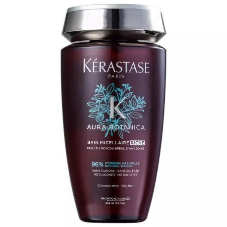 Kérastase Aura Botanica Bain Micellaire Riche Shampoo sem Sulfato - 250ml