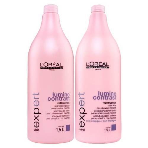 L'Oréal Professionnel Expert Lumino Contrast Shampoo + Condicionador 1,5L