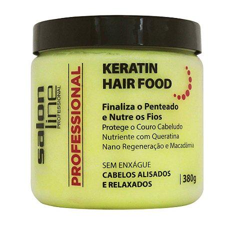 Salon Line Professional Pomada Keratin Hair Food 380g