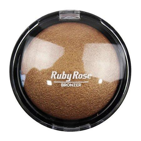 RUBY ROSE Pó Facial Bronzeador Bronzer HB-7213 06 Bronze