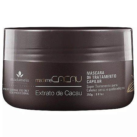 MADAMELIS MadameCacau Máscara de Tratamento Capilar com Extrato de Cacau 250g