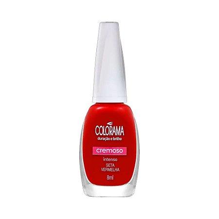 Colorama Esmalte Cremoso Seta Vermelha