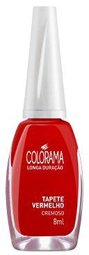 Colorama Esmalte Cremoso Tapete Vermelho