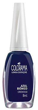 COLORAMA Esmalte Cremoso Azul Biônico