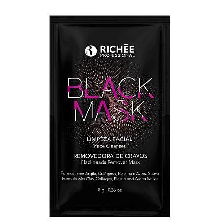 Richée Black Mask Limpeza Facial Removedora de Cravos 8g
