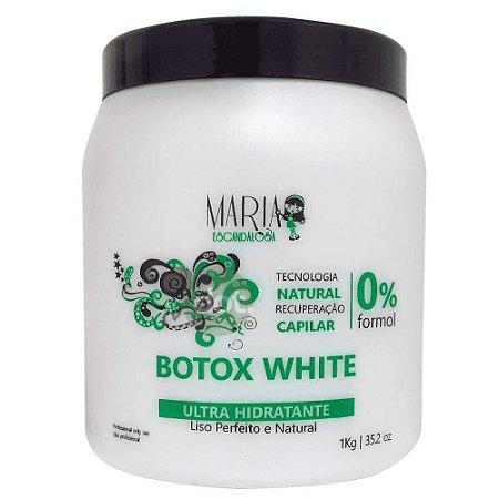 Maria Escandalosa Botox White Ultra Hidratante 0% Formol 1Kg