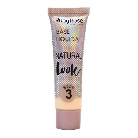 Ruby Rose Base Líquida Natural Look Nude 3 29ml