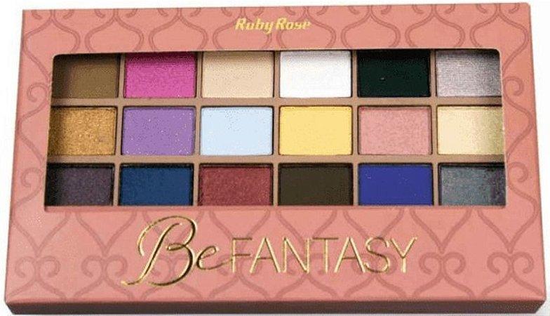 RUBY ROSE Paleta de Sombras Be Fantasy HB-9920