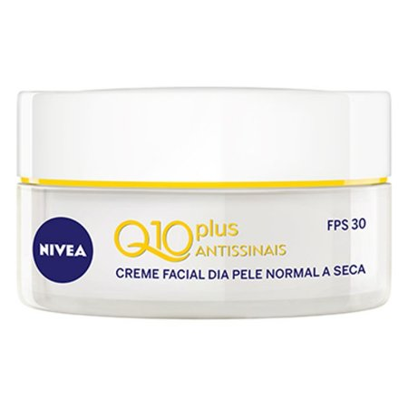 NIVEA Visage Creme Facial Antissinais Q10 Plus FPS 30 52g