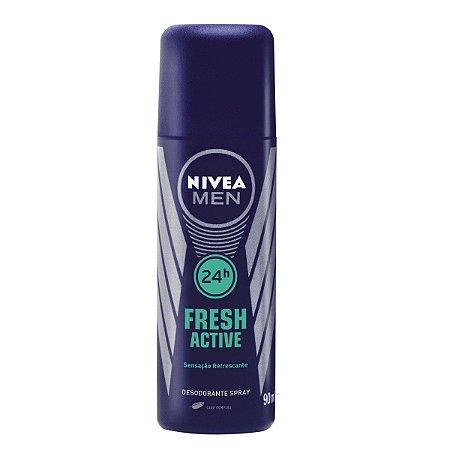 NIVEA Men Desodorante Spray Fresh Active 90ml