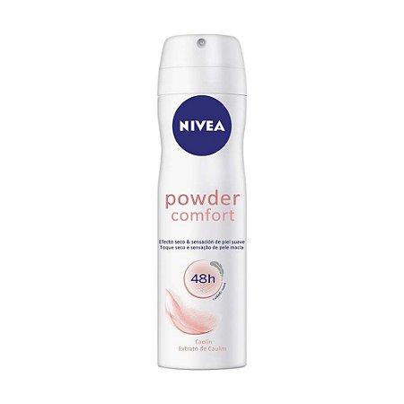 NIVEA Desodorante Aerosol Powder Comfort 150ml