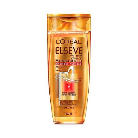 ELSEVE Óleo Extraordinário Shampoo Nutrição 400ml