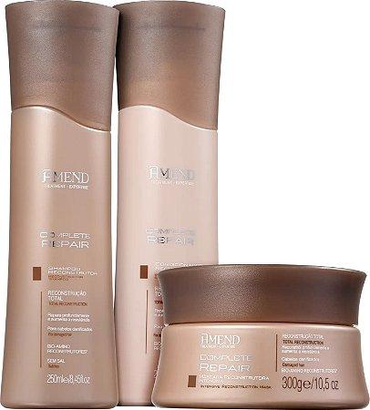 AMEND Complete Repair Shampoo + Condicionador 250ml + Máscara 300g