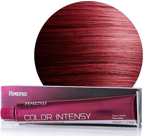 AMEND Color Intensy Coloração Permanente 66.46 Louro Escuro Cobre Avermelhado Intenso Cereja