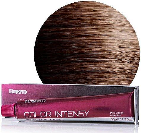 AMEND Color Intensy Coloração Permanente 6.73 Louro Escuro Marrom Dourado