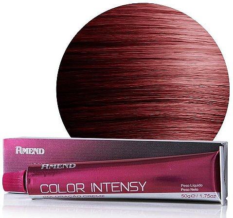 AMEND Color Intensy Coloração Permanente 4.66 Castanho Médio Vermelho Intenso
