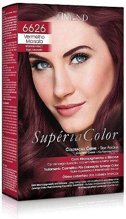 AMEND Supéria Color Tonalizante 6626 Vermelho Marsala