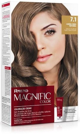 Amend Magnific Color Coloração 7.1 Louro Cinza Natural