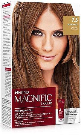 AMEND Magnific Color Coloração 7.3 Louro Avelã