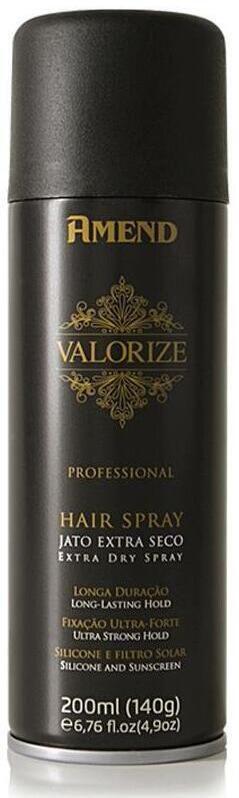 AMEND Valorize Hair Spray Fixação Ultra Forte 200ml
