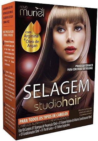 Muriel Studio Hair Selagem para Todos os Tipos de Cabelos