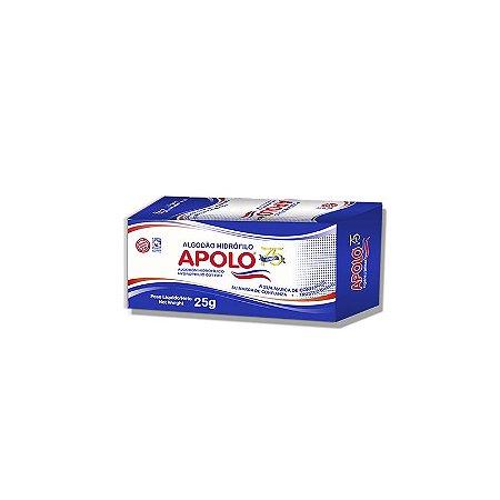 Apolo Algodão Hidrófilo Caixa 25g