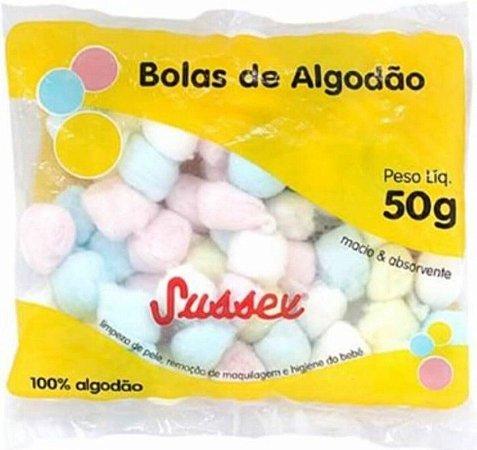 SUSSEX Algodão Bolas Coloridas50g