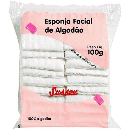 SUSSEX Algodão Esponja Facial 100g