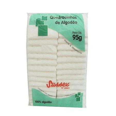 SUSSEX Algodão Quadradinhos 95g
